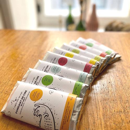 Fondant de cire soya & coco tablette de chocolat - 75g
