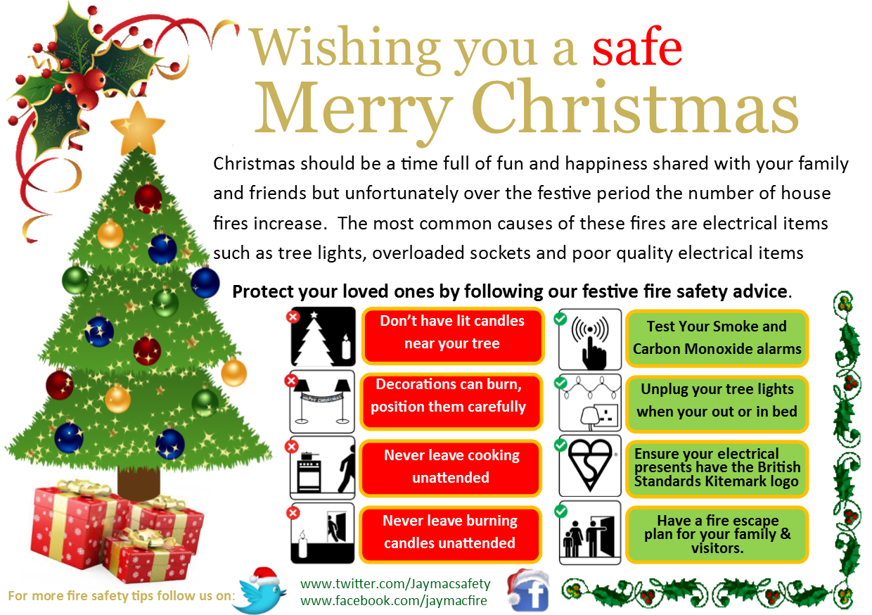 Best 28 Christmas Tree Lights Safety Christmas Fire