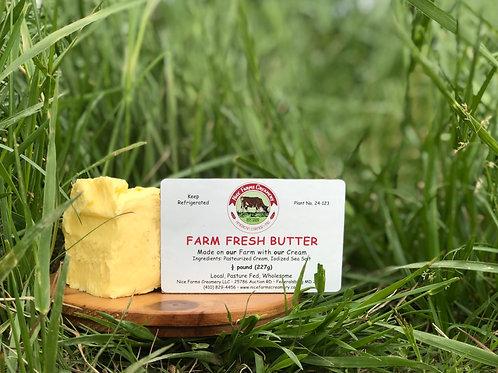 FARM FRESH BUTTER