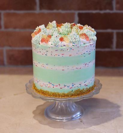 A little Funfetti cake to brighten up a
