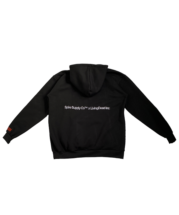 LivingDead Chenille Hoodie Back.png