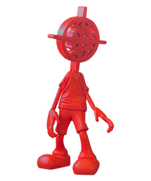 red statue front.png
