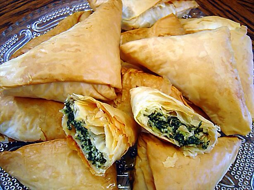 Pan of Spanakopita