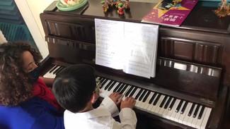 Little maestro playing Elton John.mp4