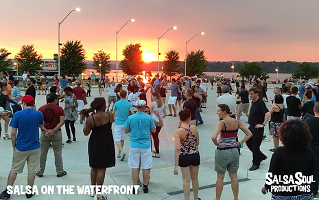 Salsa on the Waterfront rink shot Aug 1