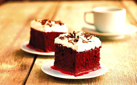 Good Food! : Baileys Red Velvet Leches Cake