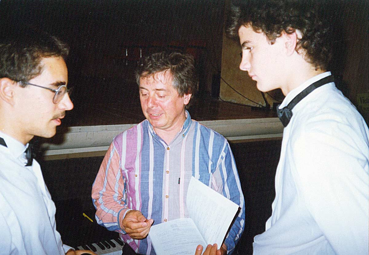 COCCAGLIO / 1991 with Anthony Rooley