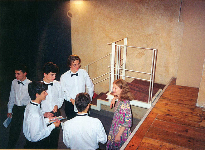 COCCAGLIO / 1991 with Emma Kirkby