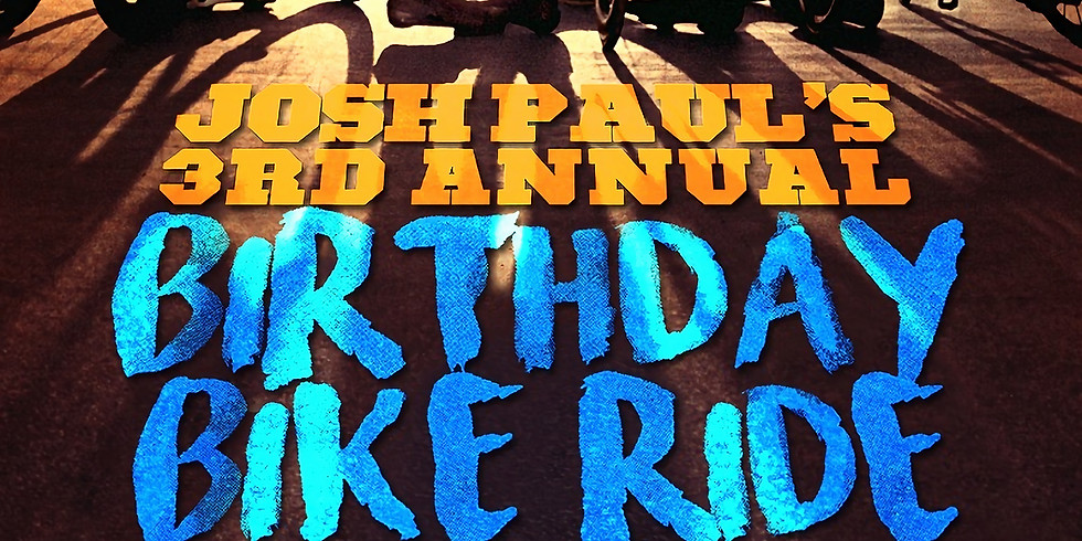Josh Paul's 3rd Annual Birthday Bike Ride
