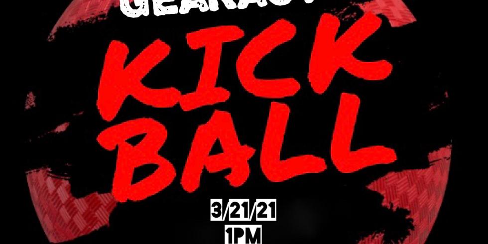 Kickball with Gearact