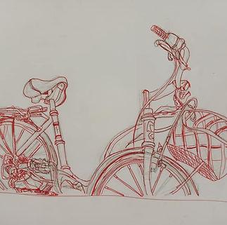 Croquis d'objet, cours de dessin pour jeunes, école d'art de Béziers, les gouters graphiques