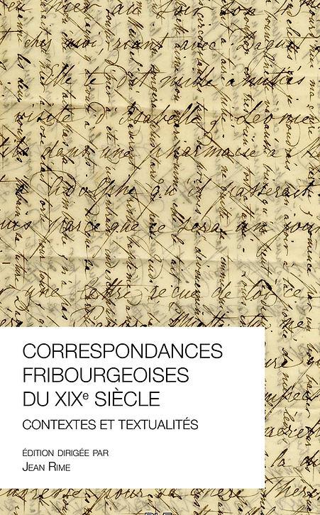 Correspondances fribourgeoise du XIXe siècle