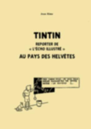 Tintin, écho illustré, Hergé, Suisse, Jean Rime