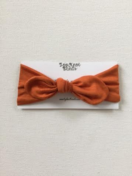 Rust Topknot
