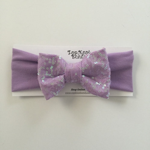 Lavender Lilly Bowband