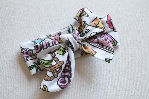 Fashion Patches Bow wrap