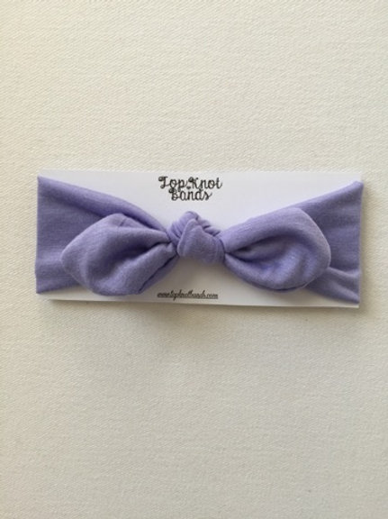 Lavender Topknot