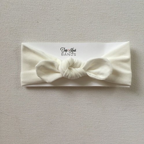 White Topknot