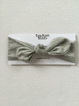 Gray Topknot