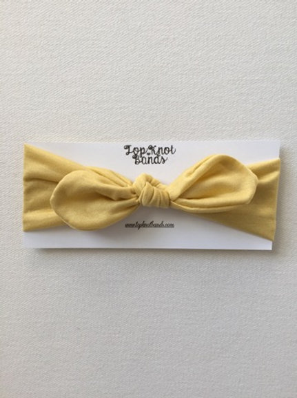 Mustard Topknot