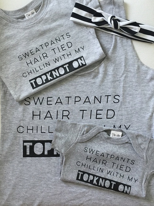 Exclusive Topknot Tees & Tanks