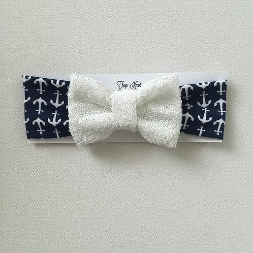 Nauti Glitter Bowband