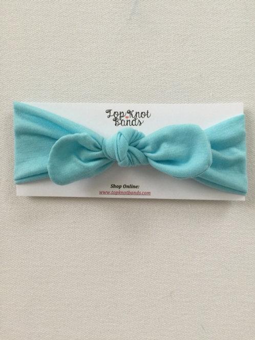 Aqua Blue Topknot