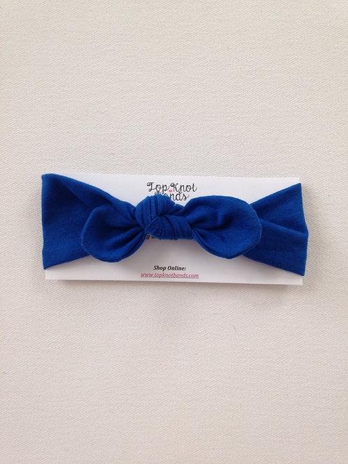 Royal Blue Topknot