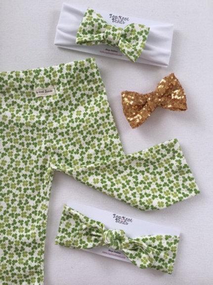 Pot'O Gold Sparkle Hair bows & Headbands