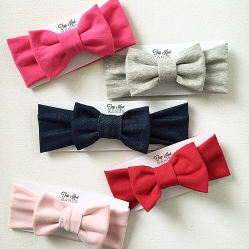 Solid Bowbands, MORE COLORS!