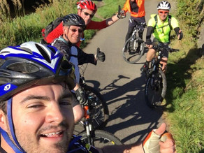 Ride of Remembrance – Mission Update 3 – Dodgey Tyres and Punctured Knees