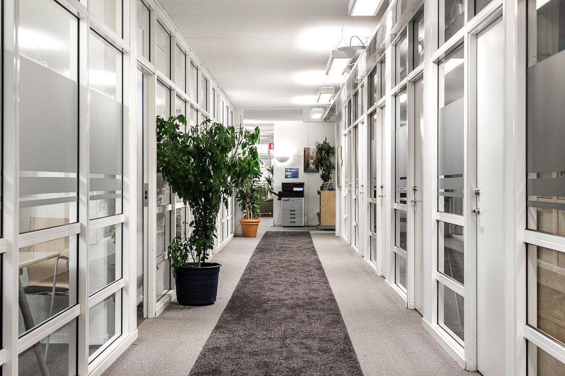 Globen office - corridor