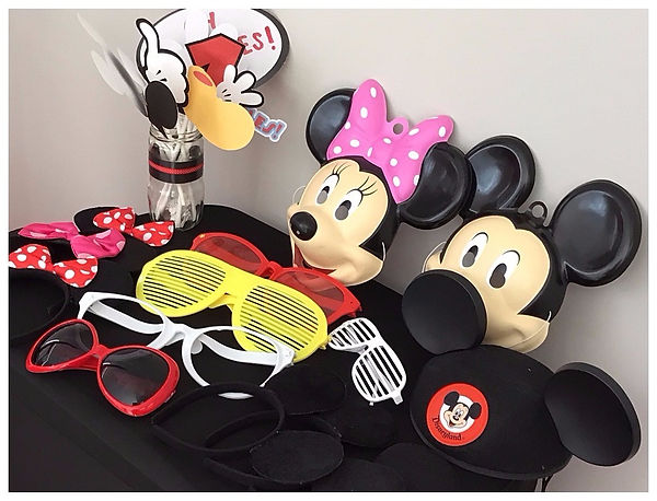 Mickey and Minie props