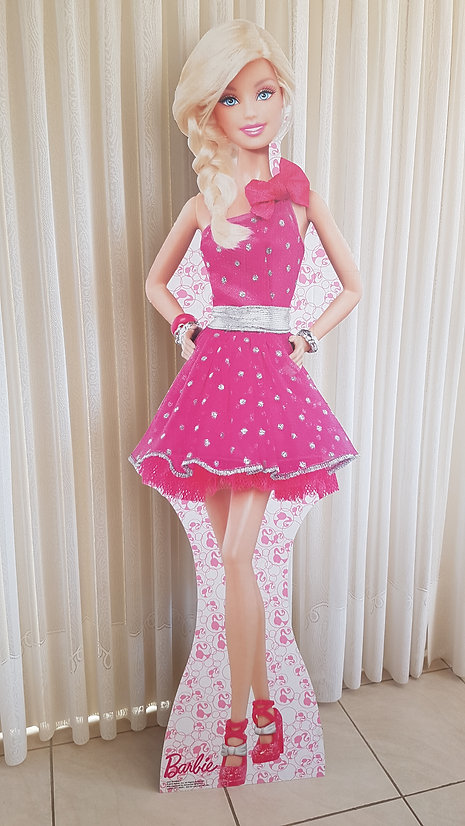 Barbie theme.