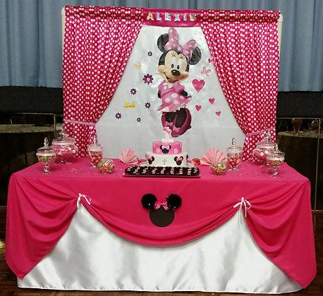 Disney themed background.