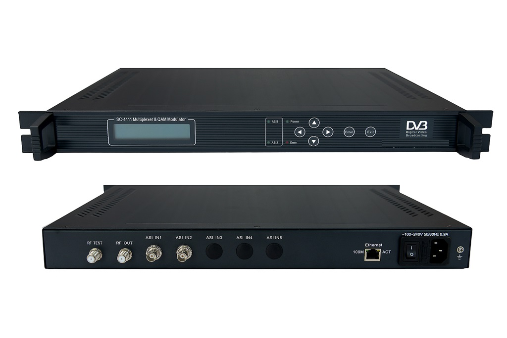 multiplexer QAM modulator