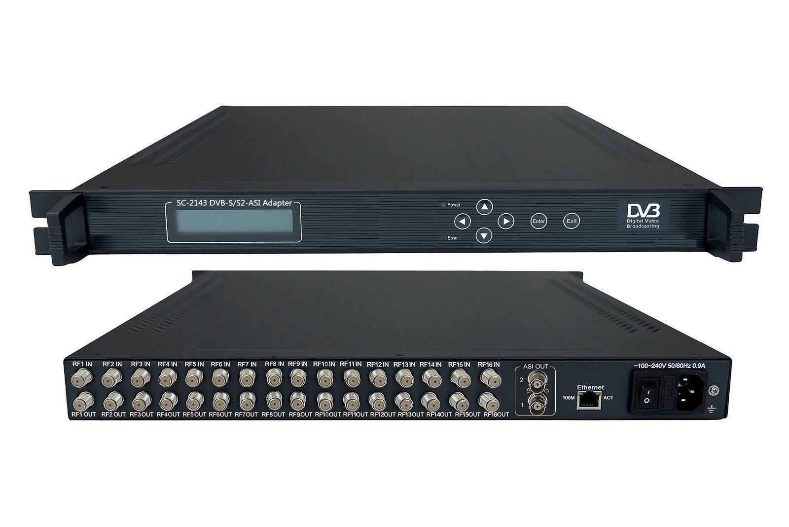 16IN1 DVB-SS2 Satellite Receiver