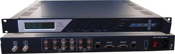 MSQ04-IP 4 IN 1 IP QAM Modulator With Scrambler Multiplexer