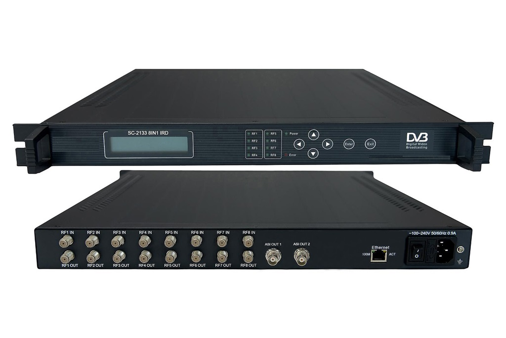 8in1 satellite receiver