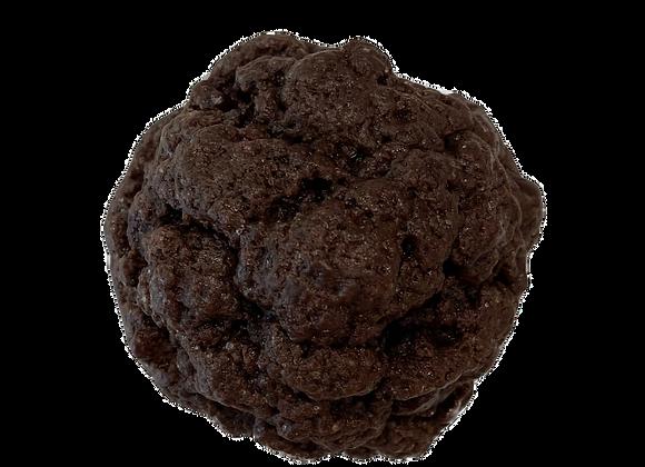 DOUBLE DARK CHOCOLATE CHUNK COOKIE