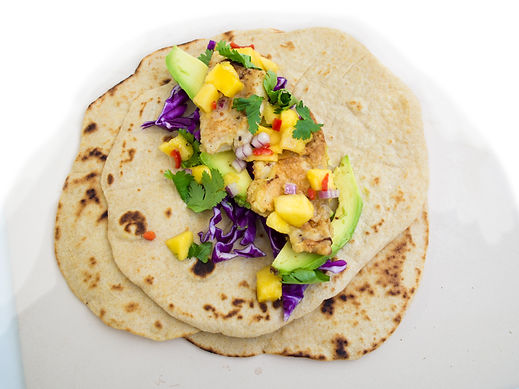 Wholemeal Fish Tortillas