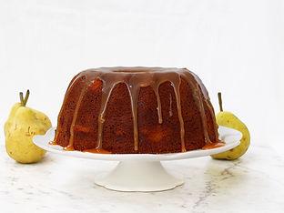 Pear & Date Bundt Cake