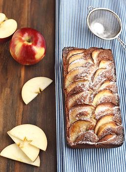 Apple Cake with Brandy Butterscotch Sauce