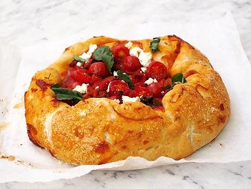 Roast Tomato Open Pita