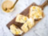 Ricotta, honey & Banana Toast