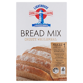 Lighthouse Breadmix Crusty Wholemeal 550g