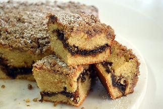 Cinnamon- Streusel Coffeecake