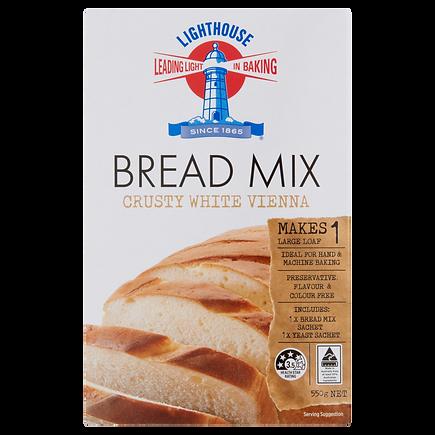 Lighthouse Breadmix Crusty White Vienna 550g