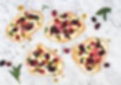 Summer Dessert Pizza