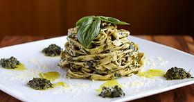 Mint & Basil Pesto Pasta